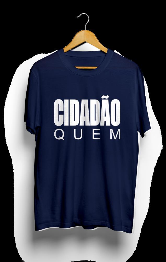 Foto do produto Camiseta Cidadão Quem | Azul Marinho