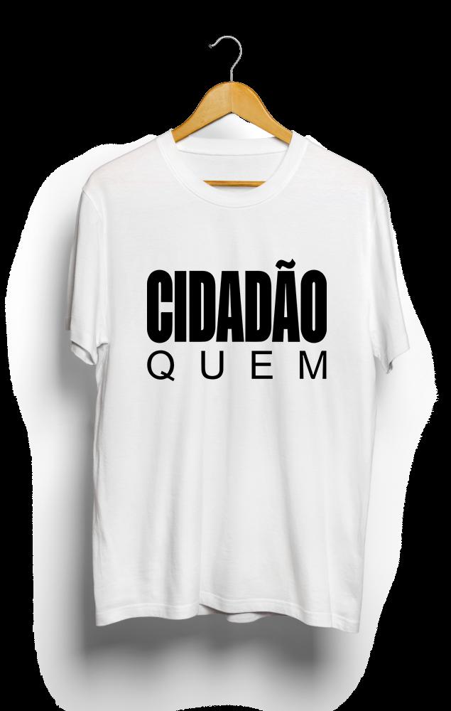 Foto do produto Camiseta Cidadão Quem | Branca