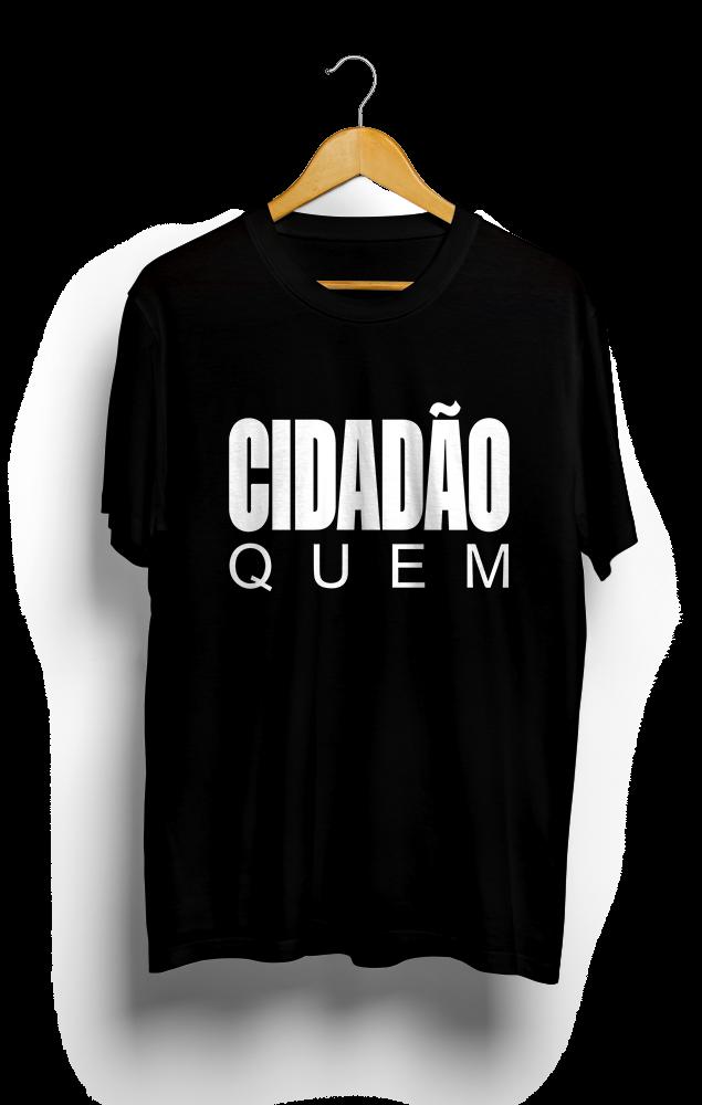 Foto do produto Camiseta Cidadão Quem | Preta