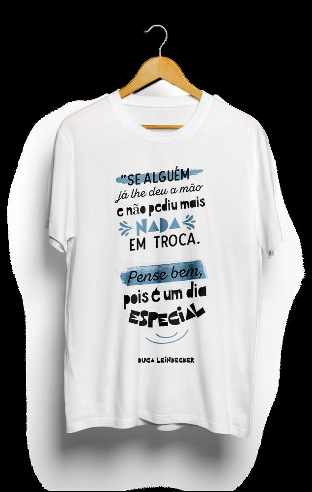 Foto do produto Camiseta Dia Especial | Branca